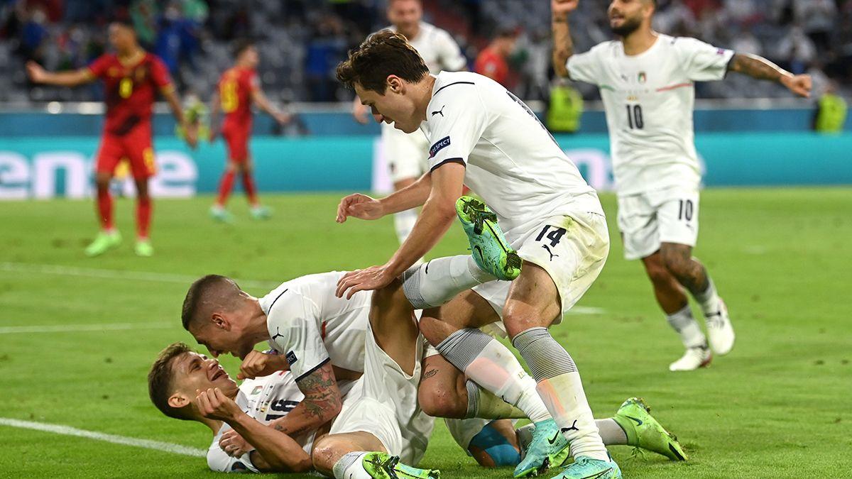 España e Italia se clasificaron a las semis de la Eurocopa