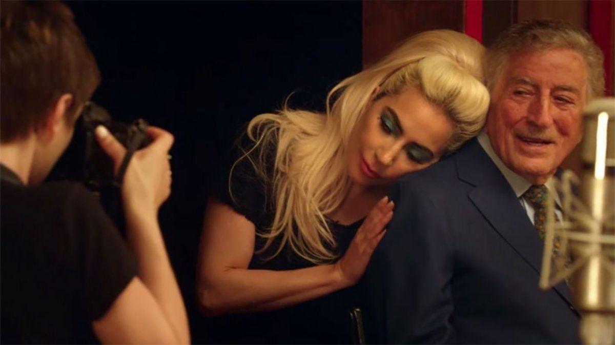 Tony Bennet y Lady Gaga (Foto: Exitoína)