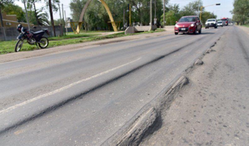 El estado de la Ruta provincial 2 preocupa a vecinos y camiones