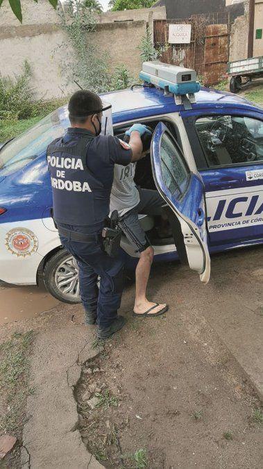 Detenido por violar una restricción perimetral