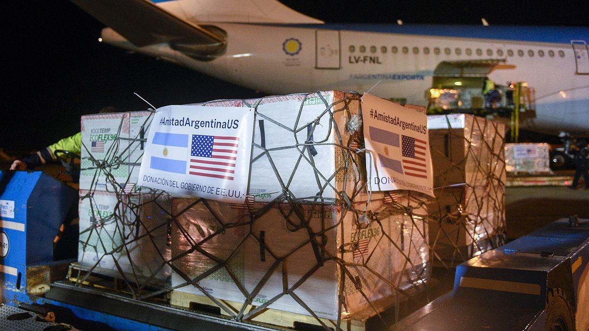 Funcionarios de EEUU celebraron la donación de vacunas Moderna a la Argentina