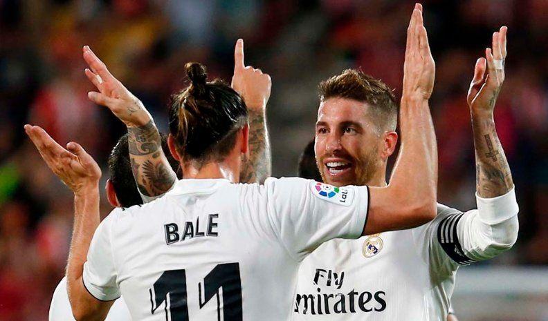 Real Madrid derrotó al Girona