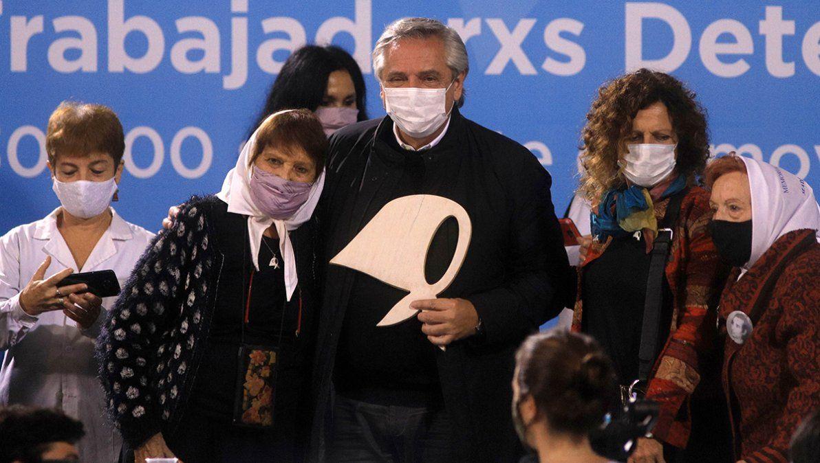 En un homenaje a los desaparecidos, Fernández embistió contra la oposición