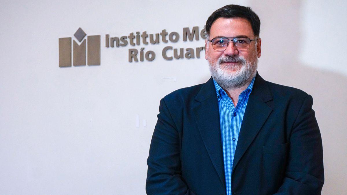 Mario Piastrellini lleva nueve años como Director Médico de Instituto Médico Río Cuarto.