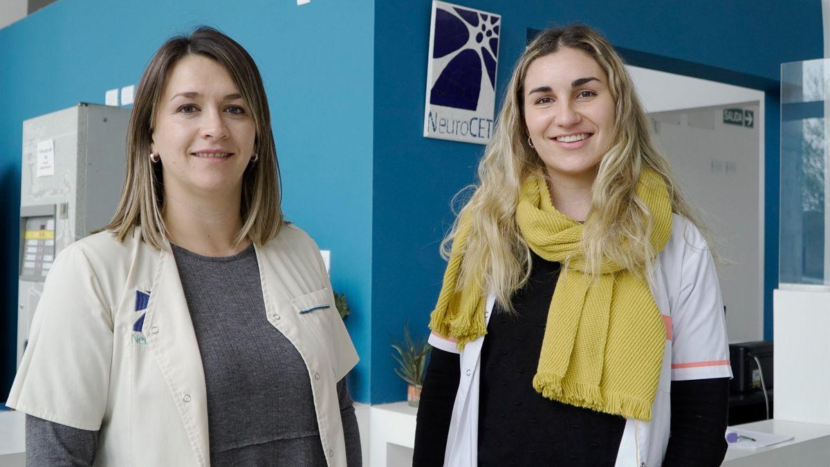 Julieta Titarelli y VIctoria Ciancia