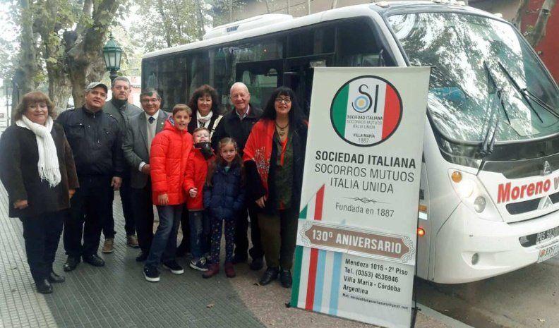 La Sociedad Italiana local representó a la ciudad en el 72° aniversario de esa República