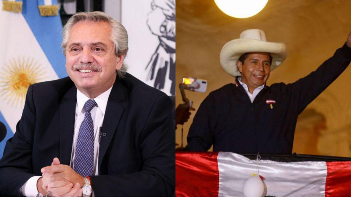 La semana pasada el jefe de Estado había felicitado al mandatario electo de Perú y destacado que su objetivo es que trabajen juntos por una Latinoamérica unida.