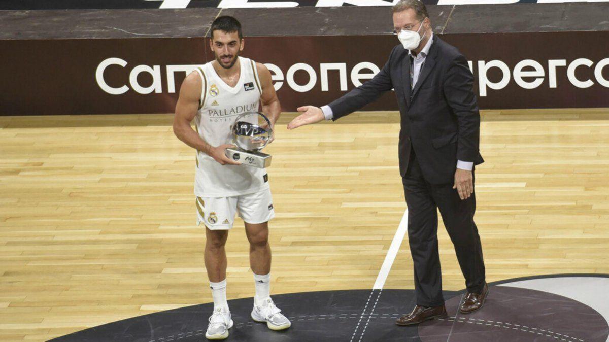 Conseguimos el título que buscábamos, dijo Campazzo, campeón con Real Madrid