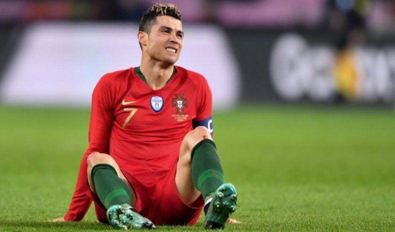 Cristiano no jugará los próximos partidos de Portugal