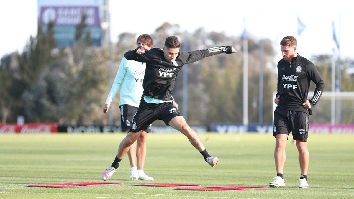 La Selección argentina volvió a la actividad pensando en las Eliminatorias