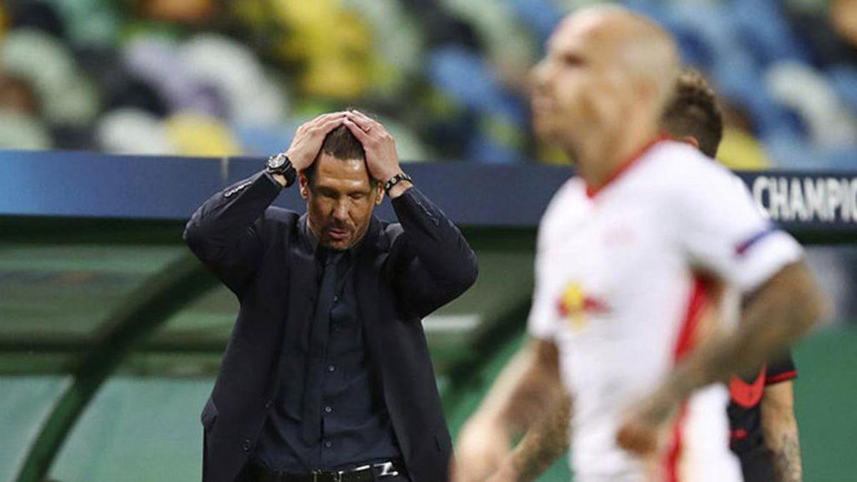 El Cholo Simeone dijo que ganar era todo lo que había. El fútbol