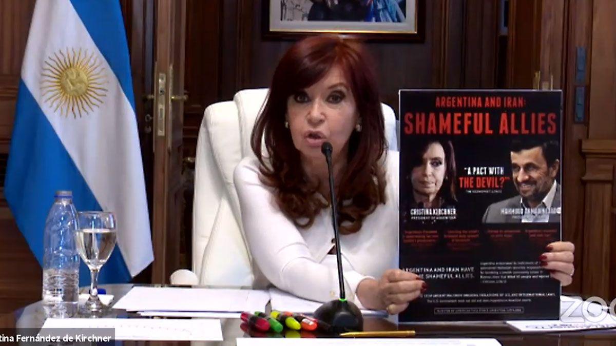 Cristina declaró para argumentar los pedidos de nulidad en la causa por el memorándum con Irán.