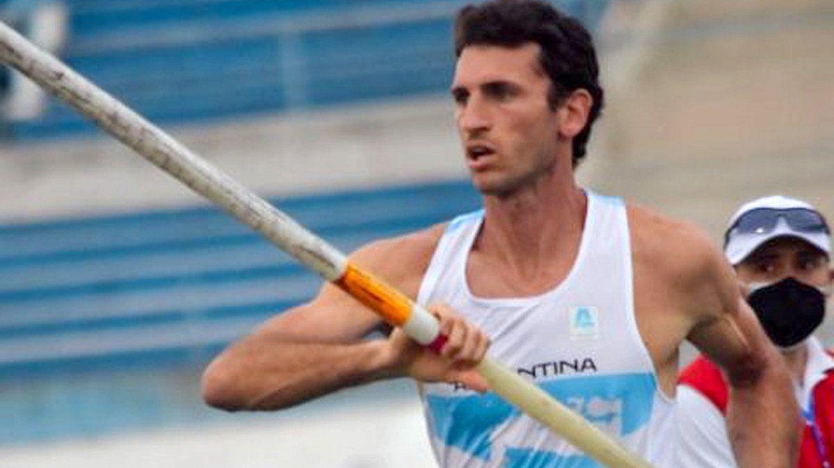 Germán Chiaraviglio ratificó su dominio en el ámbito sudamericano en salto con garrocha.