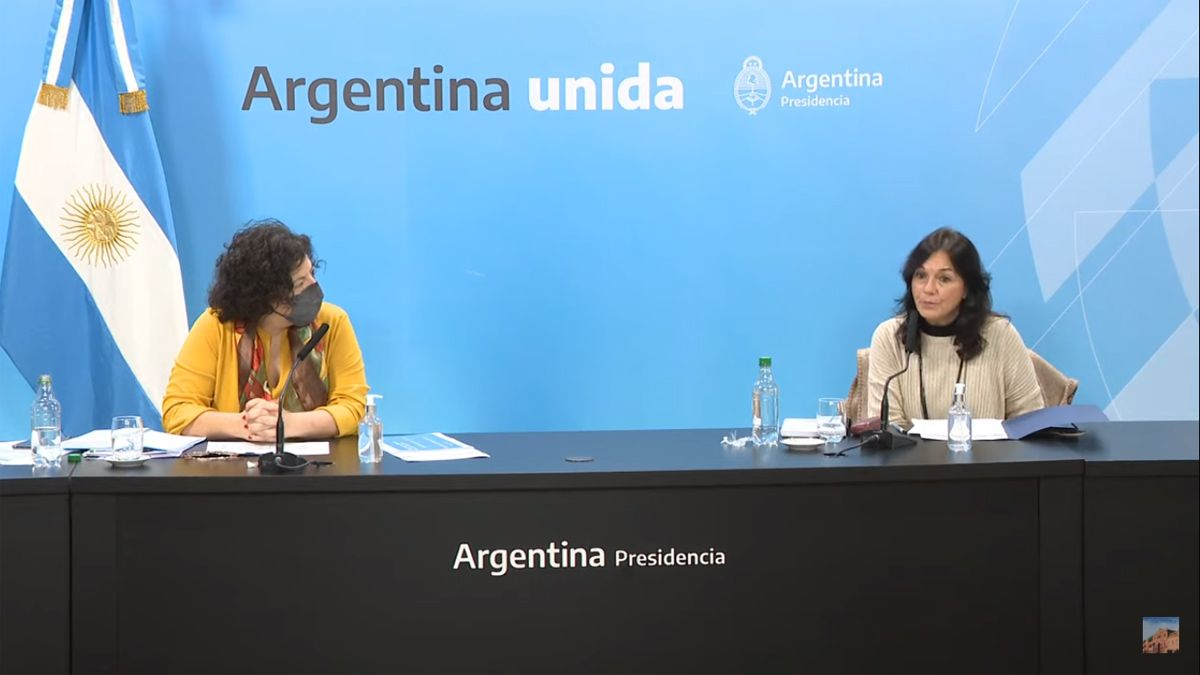 Vilma Ibarra y Carla Vizzotti informan sobre el DNU para modificar la ley de vacunas.