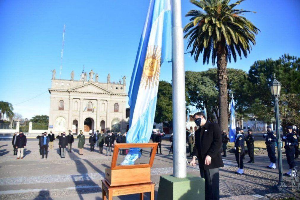 El municipio llevará adelante el tradicional acto protocolar en plaza San Martín
