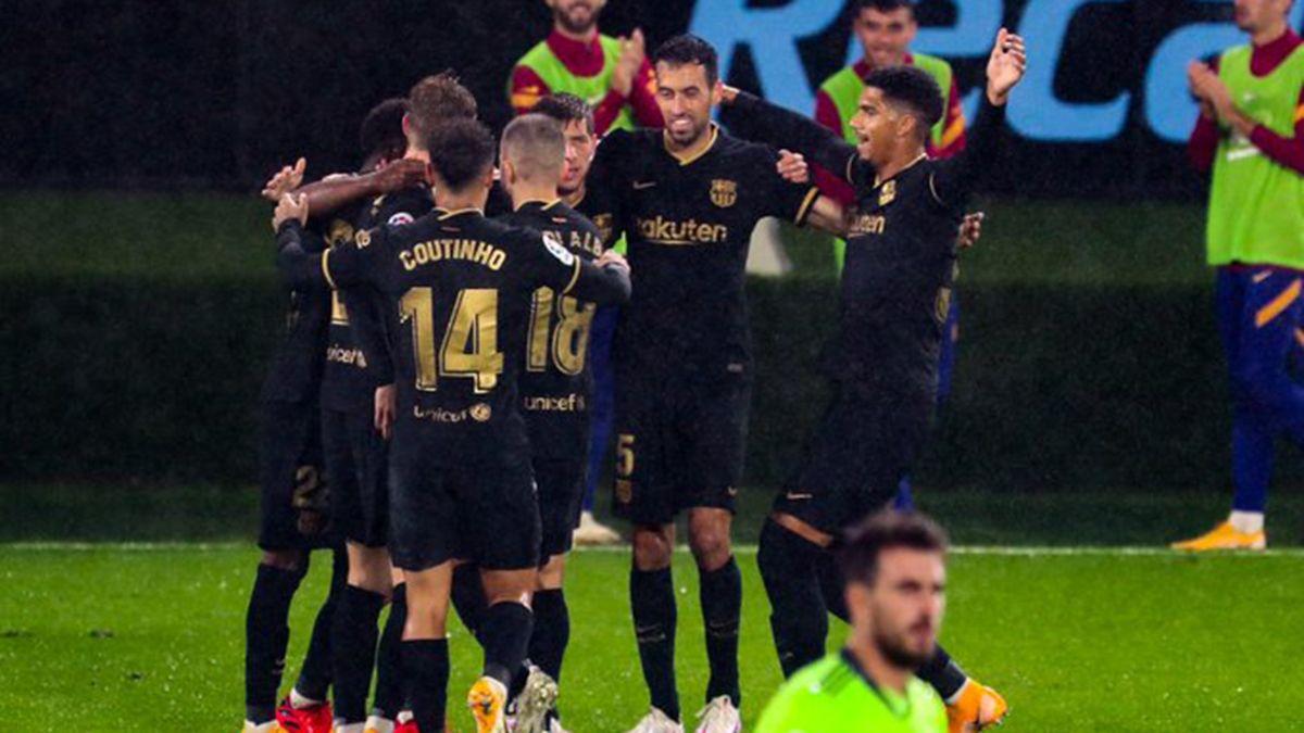 Barcelona venció al Celta de Vigo