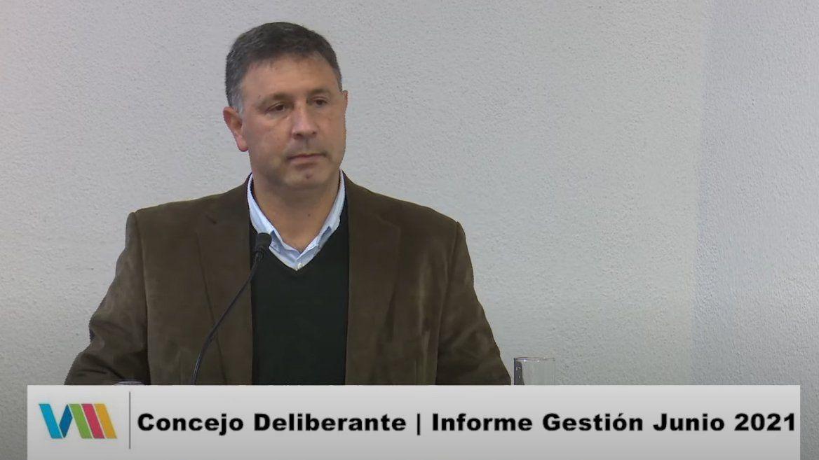 Pablo Rosso brindó el primer informe de gestión del año