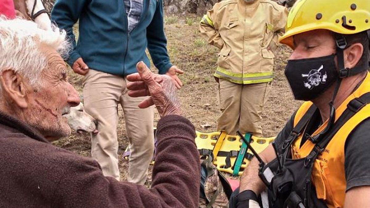 El hombre de 90 años fue encontrado esta mañana Crédito: Diario Tres