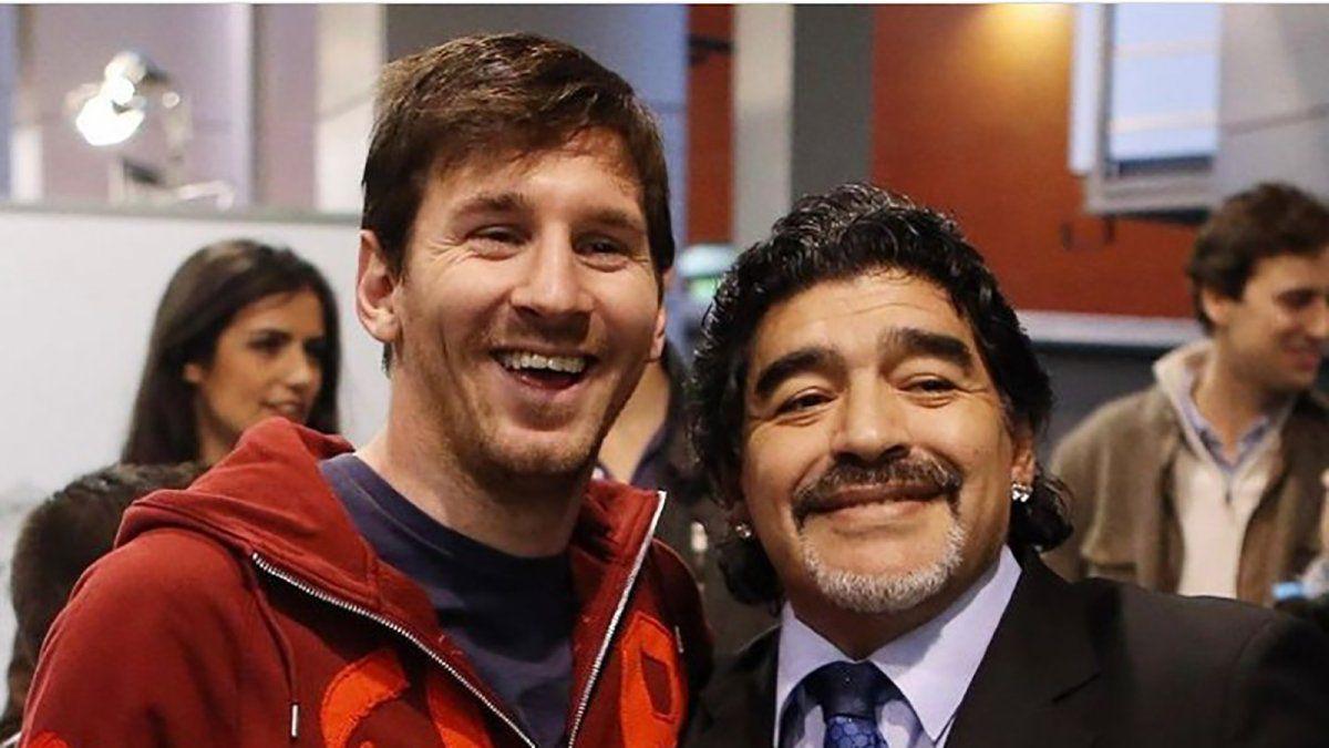 Messi: Nos deja pero no se va, porque el Diego es eterno