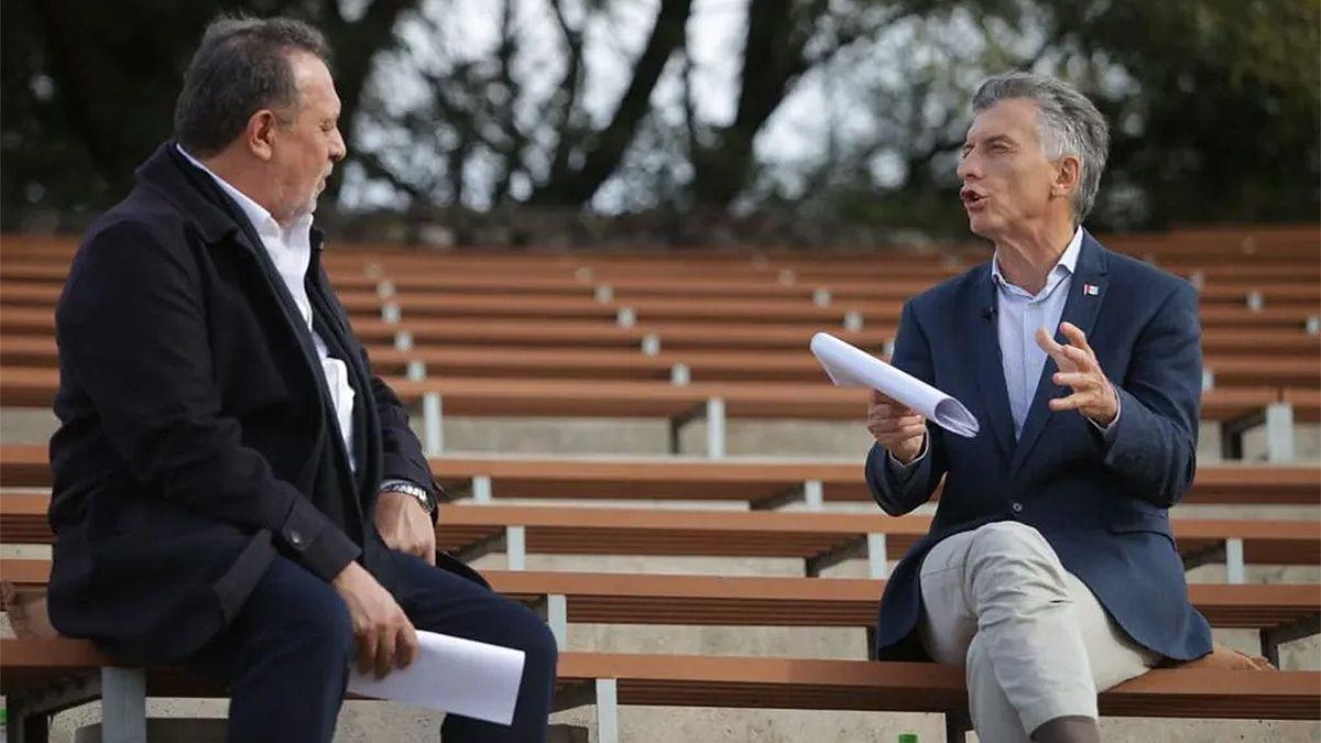 El ex presidente Mauricio Macri volvió a meterse en la interna de Cambiemos en Córdoba.