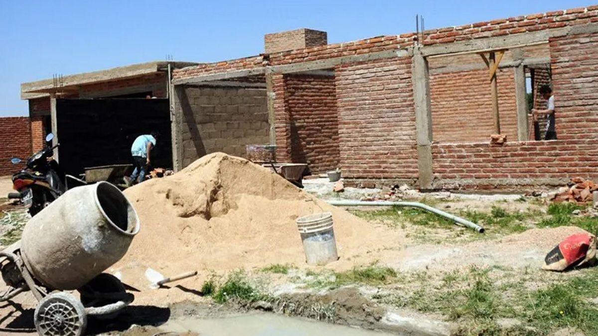 El Gobierno reabrió la línea de créditos para la construcción de viviendas.