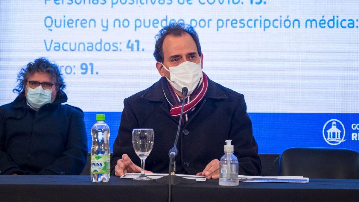 El intendente Llamosas anunció la ampliación del Identificar Vacunación a otras franjas etarias.