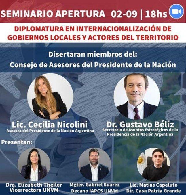 Comienza la Diplomatura en Internacionalización de Gobiernos Locales y actores del territorio