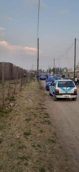 Operativo realizado por la Policía juntamente con Seguridad Ciudadana.