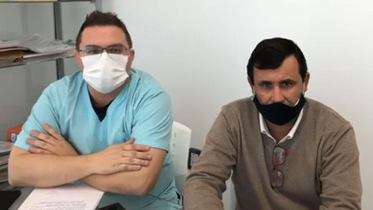 Directivos del Hospital de Jovita dieron a conocer las medidas preventivas.