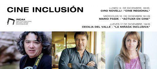 Continúan las charlas de Cine Inclusión.