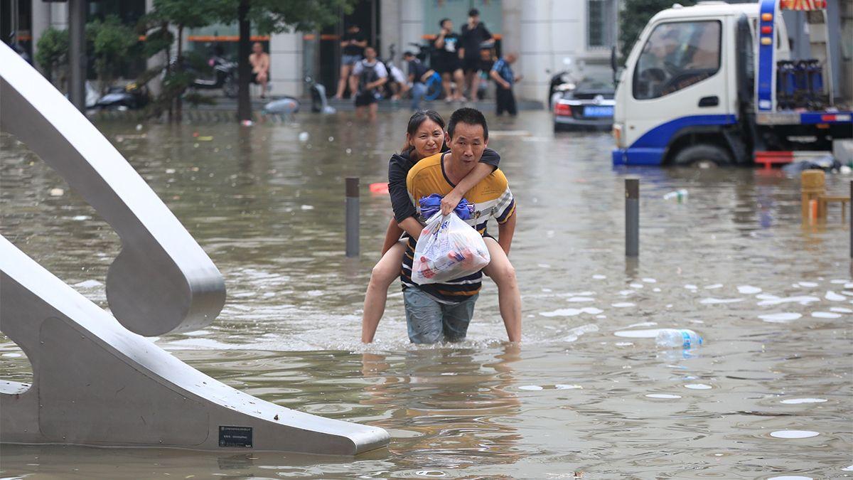 Al menos 25 fallecidos por inundaciones y lluvias torrenciales en China