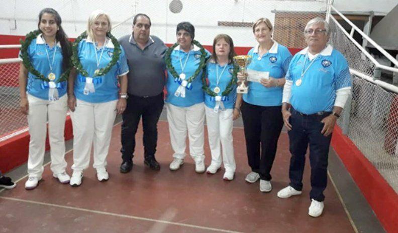 Las damas de Villa María lograron el bicampeonato Provincial en tercetos