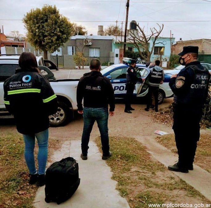 La detención de Fidel Augusto Ayala el viernes.