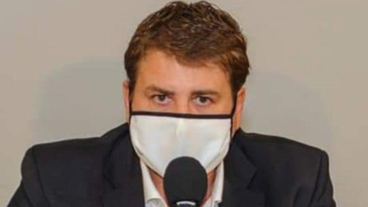 El intendente Gvozdenovich dijo que el Hogar está bajo estricto control sanitario y que los residentes se encuentran bien.