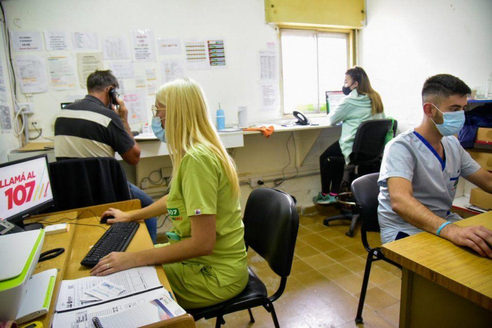 Servicio municipal de emergencias: durante el primer mes, hubo casi 600 intervenciones
