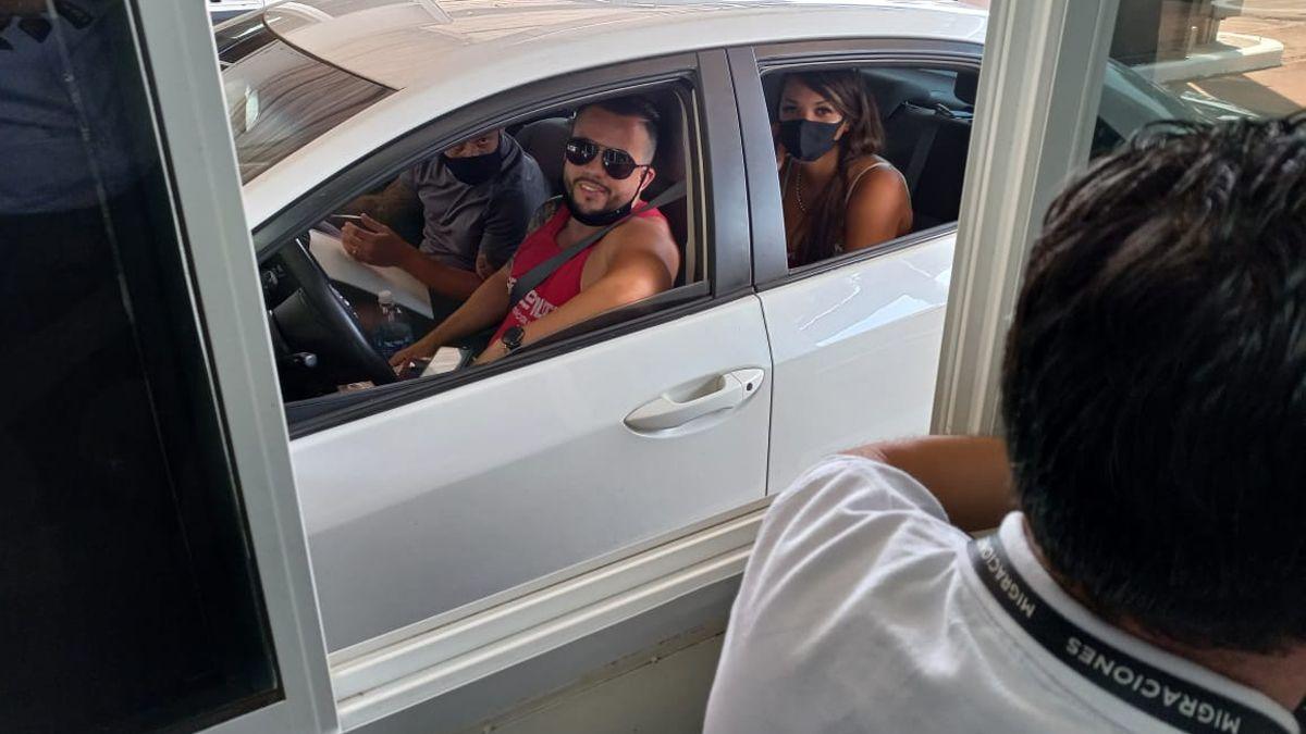 En Misiones recibieron a los primeros turistas brasileños tras reabrir la frontera.