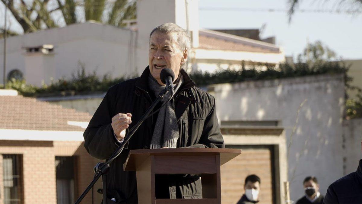 El gobernador destacó que la obra se desarrolló en medio de la pandemia.
