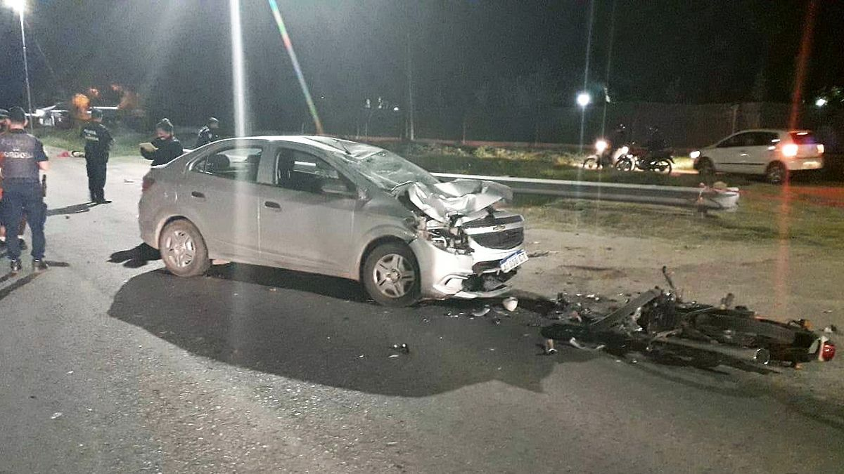 La colisión fue frontal y se registró en la instersección de ruta 36 y Muñiz.