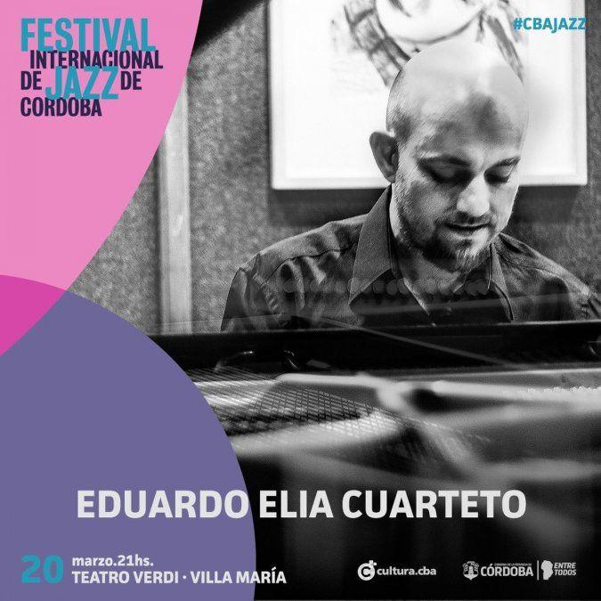 Con entrada gratuita, Villa María participa del Festival Internacional de Jazz