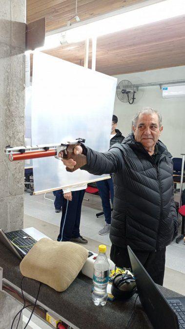 El campeón. Elso Dellamaggiore en la competencia que se realizó el fin de semana.