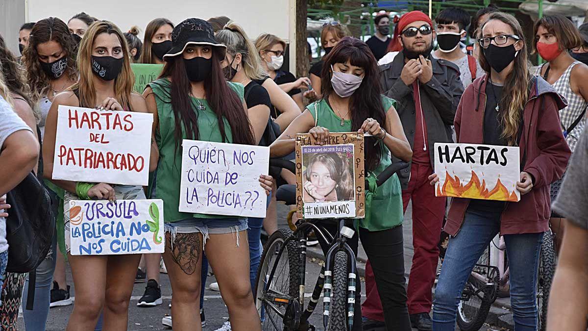 El femicidio de Úrsula desató manifestaciones en todo el país.