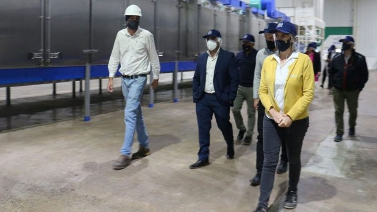 La Provincia habilitó el gas natural en una industria de Carnerillo