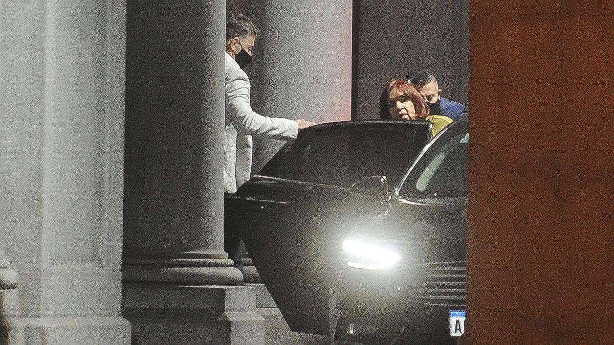 Cristina Kirchner mantuvo una conversación con Guzmán.
