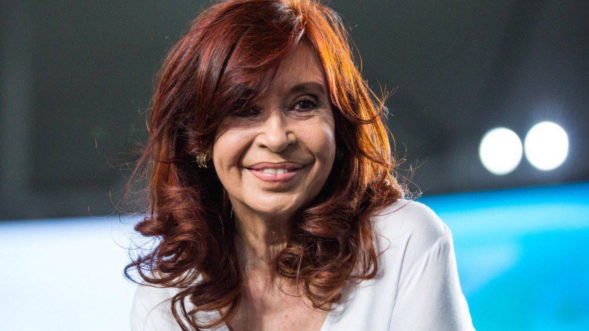 La vicepresidenta Cristina Fernández