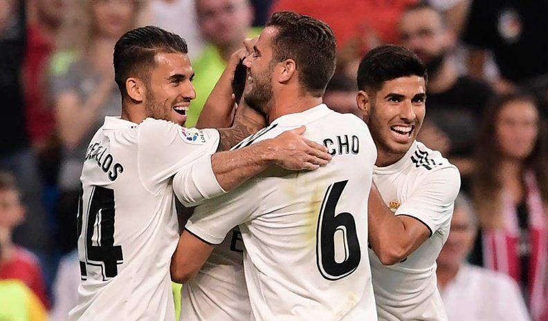 El Real Madrid frenó las dudas