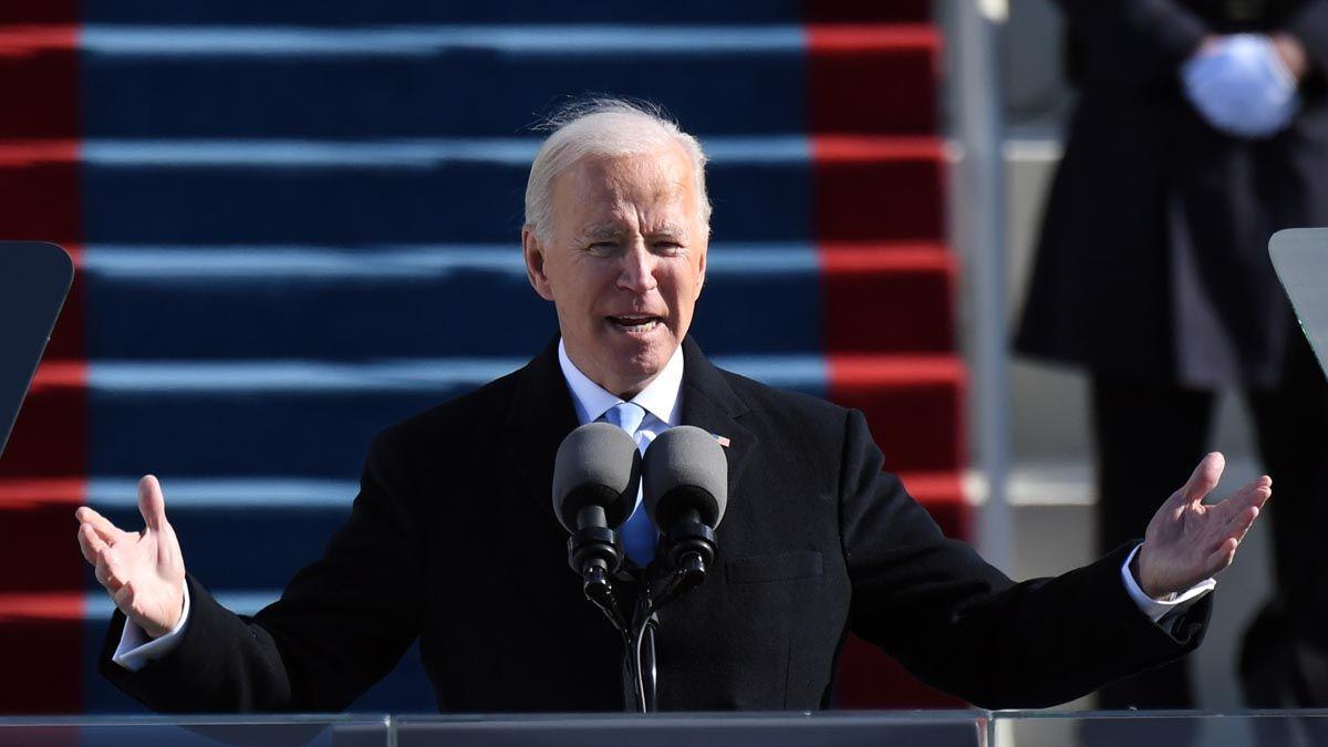 Biden destacó que prevaleció la democracia.