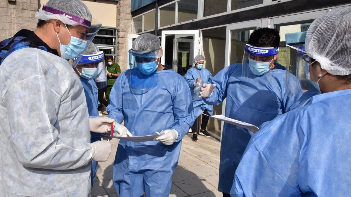 Argentina superó las 108 mil muertes por coronavirus.