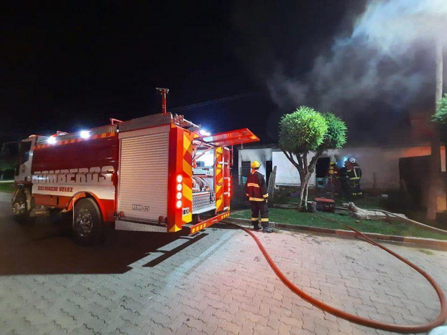 Incendio en una vivienda de Luca
