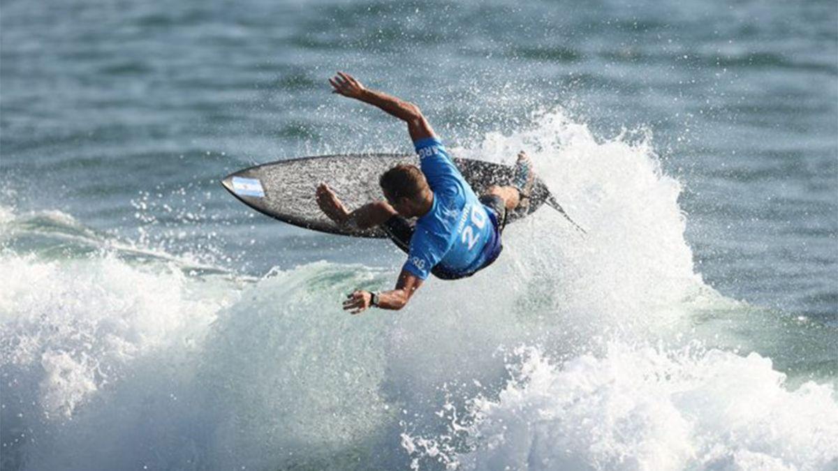 Un argentino hizo historia en el surf
