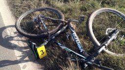 Ruta 9: investigan cómo murió  el ciclista y confirman que la  bici fue robada en Morrison
